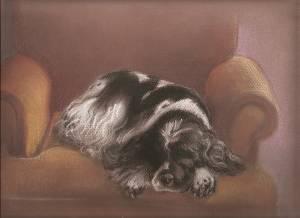 """""""Raksa"""" Papier, pastel, 1999"""